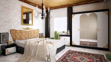 Спален комплект Азра Бианко без матрак