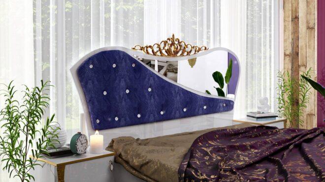 Спален комплект Дамла-син1