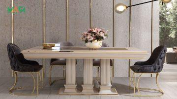 Трапезна маса Берлин + 4 стола